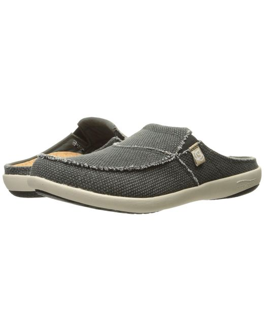 Spenco - Gray Siesta Slide (charcoal Grey) Men's Clog Shoes for Men - Lyst