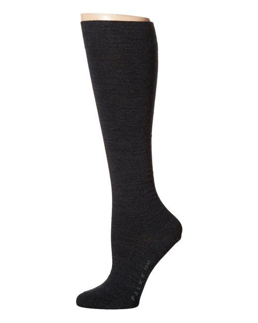 Falke | Gray Soft Merino Knee Highs | Lyst