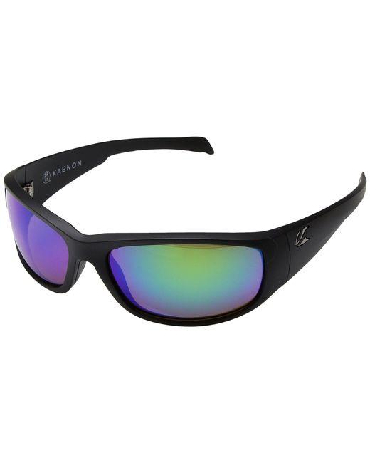 Kaenon - Capitola (grey White/grey 12 Polarized Black Mirror) Sport Sunglasses for Men - Lyst