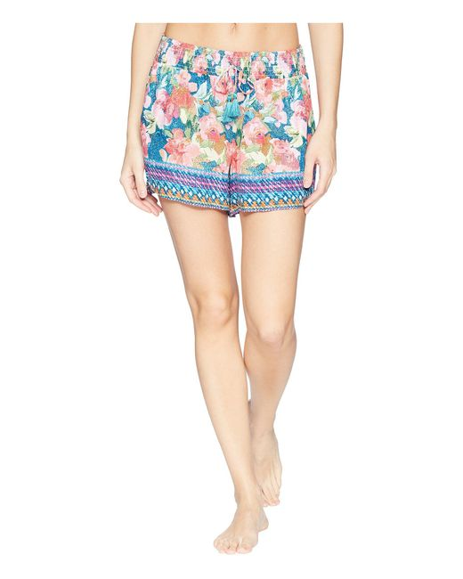 Vera Bradley - Blue Pajama Shorts (cut Vines) Women's Pajama - Lyst