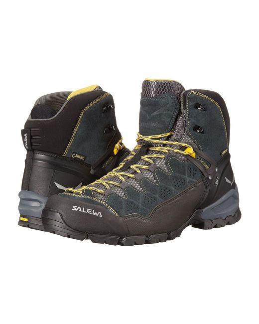Salewa - Multicolor Alp Trainer Mid Gtx(r) (carbon/ringlo) Men's Shoes for Men - Lyst