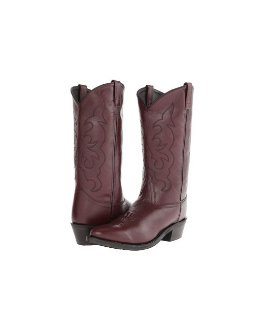 Old West Boots - Brown Tbm3013 (black Cherry) Cowboy Boots for Men - Lyst