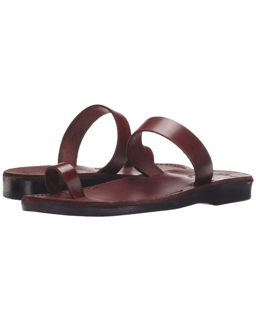 Jerusalem Sandals - Eden - Womens (brown) Women's Shoes - Lyst