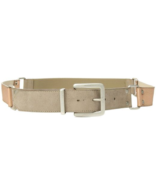 Leatherock - Multicolor Lexi Belt (hazel/rose Gold) Women's Belts - Lyst
