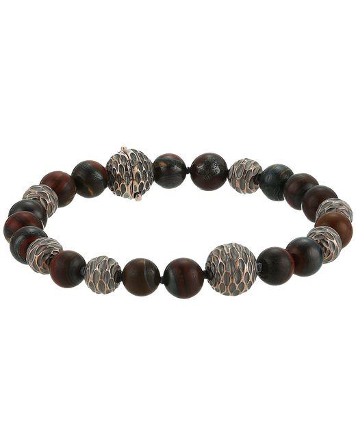 John Hardy - Metallic Legends Naga Bead Bracelet With Gemstone (silver/bronze) Bracelet for Men - Lyst