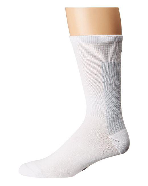 Adidas Originals - Eqt Ii Single Crew Sock (white/clear Grey) Men's Crew Cut Socks Shoes for Men - Lyst