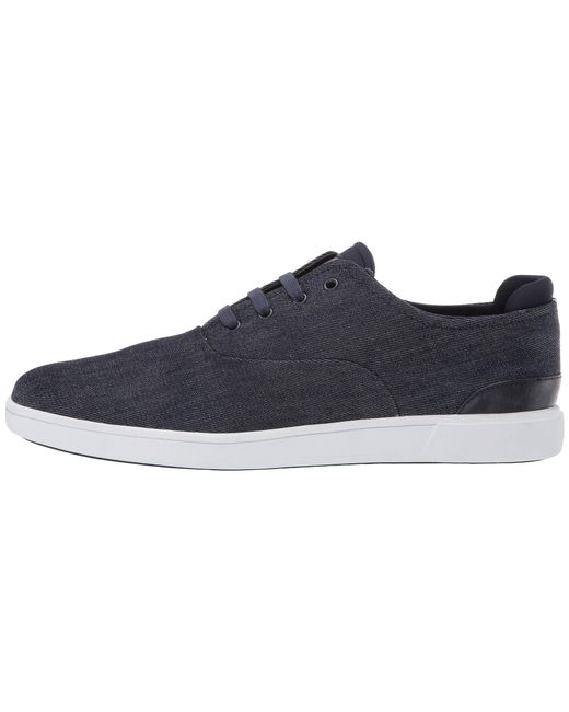 ef6f9391e86 ... Steve Madden - Blue Fathom (navy Fabric) Men s Lace Up Casual Shoes for  Men ...