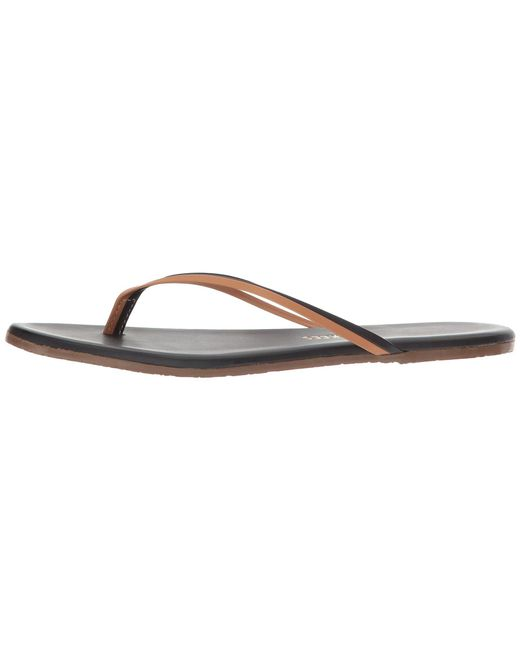 40421ae8c2c ... TKEES - Multicolor Flip-flop-duos (brownie) Women s Toe Open Shoes ...