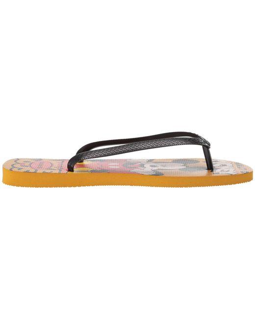 115d4ea8d7e4 ... Havaianas - Multicolor Disney Stylish Flip Flops (mustard) Men s Sandals  for Men ...