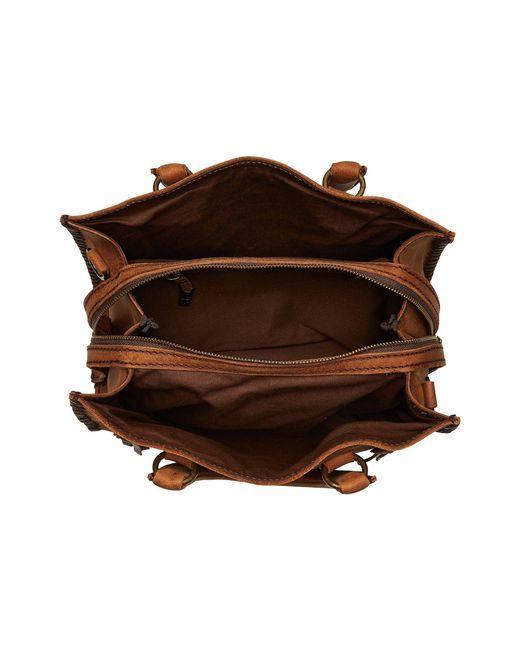 Sts Ranchwear Small Chaps Satchel Brown Handbags Lyst