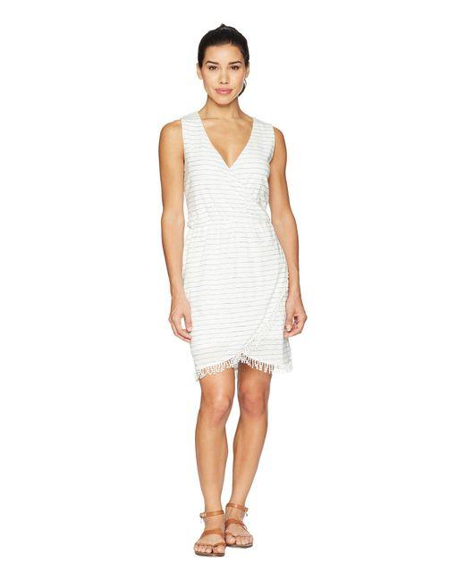 Carve Designs - White Kendall Dress (grey) Women's Dress - Lyst