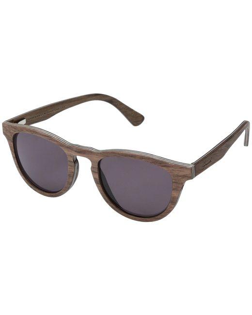 Shwood - Gray Francis Wood Sunglasses (zebrawood/grey) Athletic Performance Sport Sunglasses - Lyst