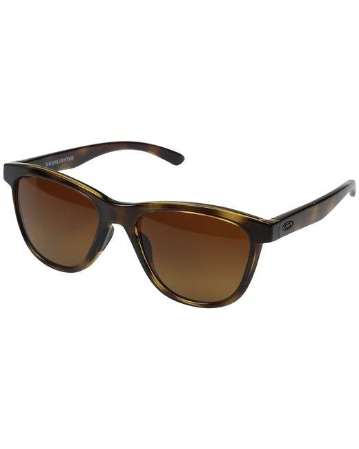 Oakley - Brown Moonlighter (sapphire Mist W/ Prizm Sapphire) Plastic Frame Fashion Sunglasses - Lyst