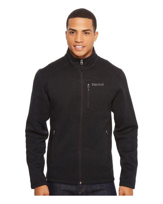 Marmot - Black Drop Line Jacket for Men - Lyst