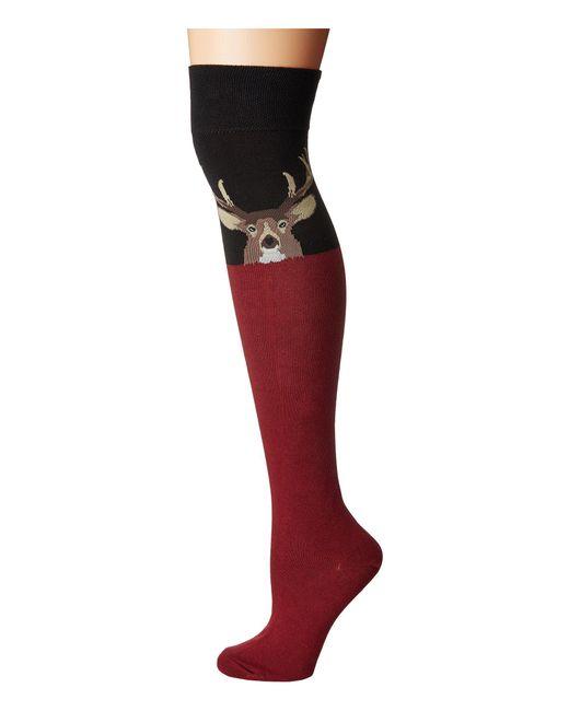 Socksmith - Buck (black) Women's Crew Cut Socks Shoes - Lyst