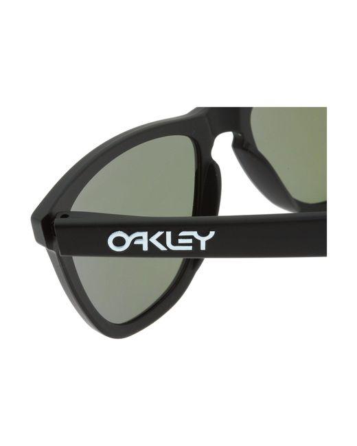 a42b1e39f5 ... Oakley - Frogskins(r) (matte Black violet Iridium Lens) Sport Sunglasses  ...
