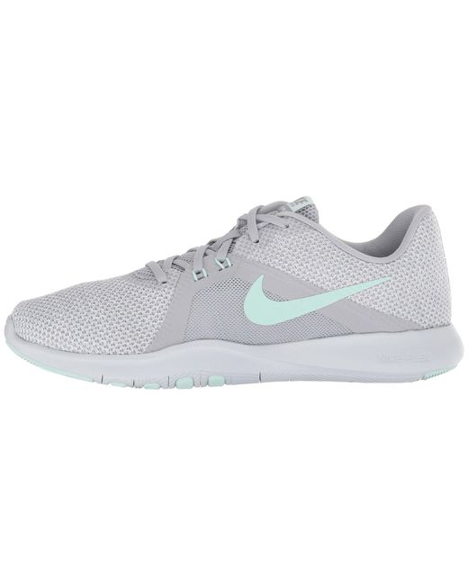 b18118cfed6c3 Lyst - Nike Flex Tr 8 (wolf Grey igloo white pure Platinum) Women s ...