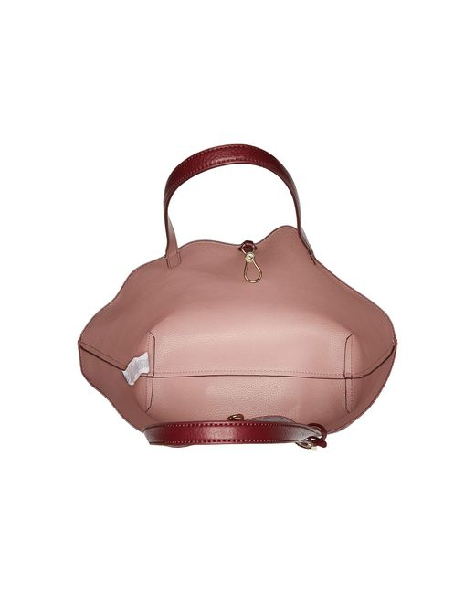 ... Handbag - merlot  new product 8974b a9ad9 ... Lauren by Ralph Lauren -  Red Merrimack Reversible Tote ... b238c97a128bc
