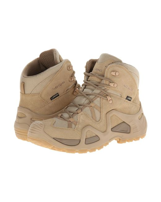 Lowa - Brown Zephyr Gtx Mid Tf Ws (beige) Women's Shoes - Lyst