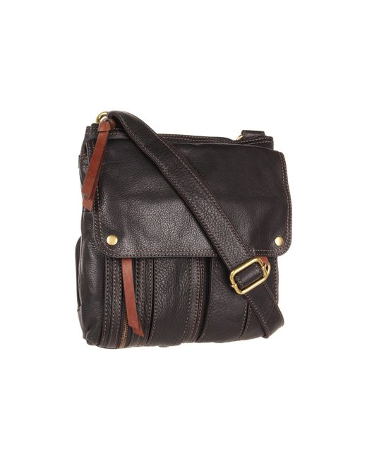 Fossil - Black Morgan Traveler - Lyst