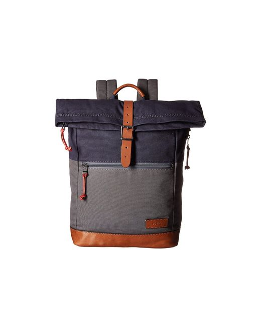 Fossil - Gray Defender Backpack - Lyst