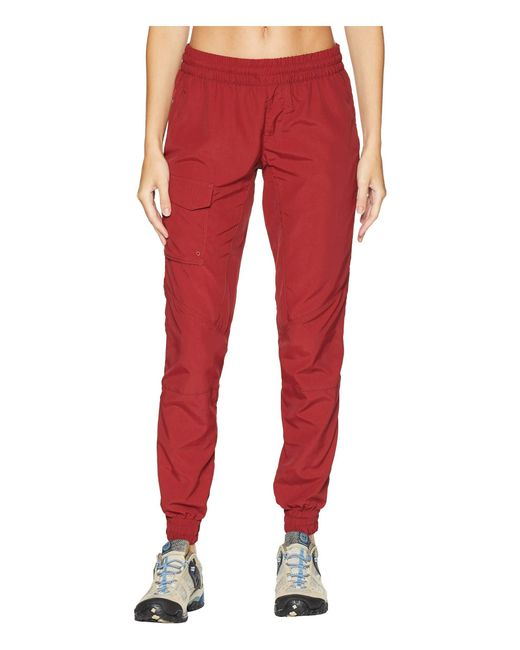 Columbia - Red Silver Ridge Pull On Pants (nocturnal) Women's Casual Pants - Lyst