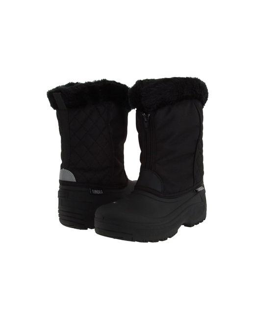 Tundra Boots Black Portland