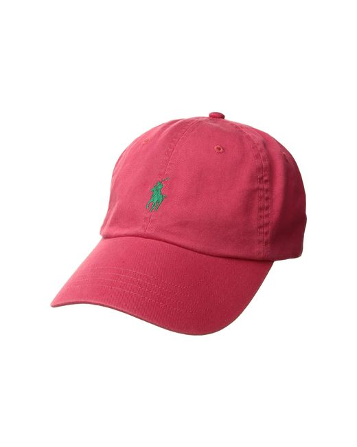 707b0230a731c Polo Ralph Lauren - Red Classic Sport Cotton Chino Hat (baby Blue) Caps for  ...
