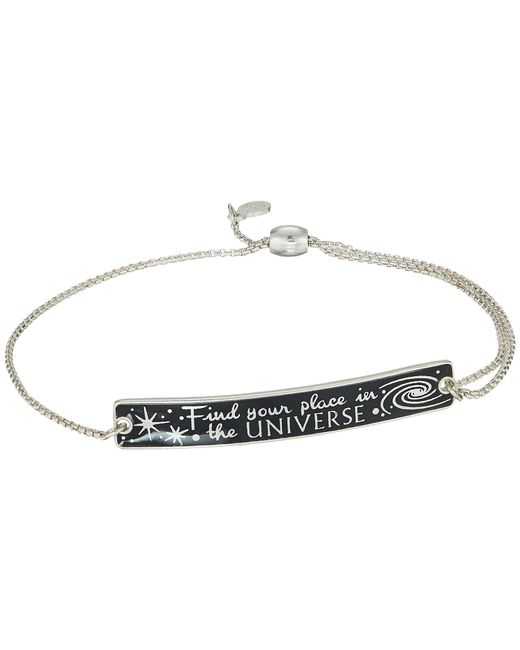 ALEX AND ANI - Metallic Wrinkle In Time - Find Your Place In The Universe Pull Chain Bracelet (sterling Silver) Bracelet - Lyst