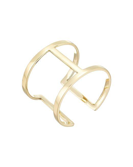 Vince Camuto - Metallic Sculptural Open Cuff Bracelet (silver) Bracelet - Lyst
