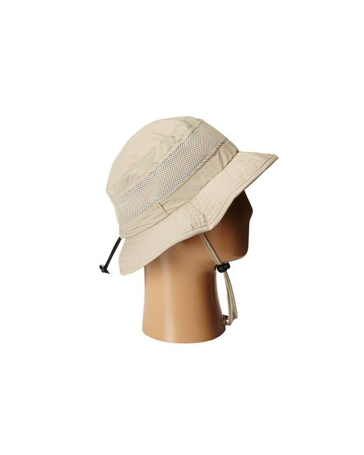 1723442807e ... Stetson - Natural Boonie With Insect Shield Flap (khaki) Caps for Men -  Lyst ...