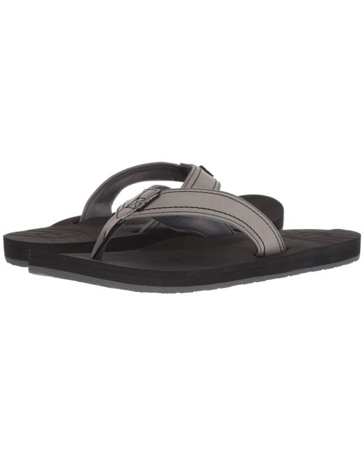 5a2a6ae75854 Rip Curl - Gray P-low (grey) Men s Sandals for Men - Lyst ...