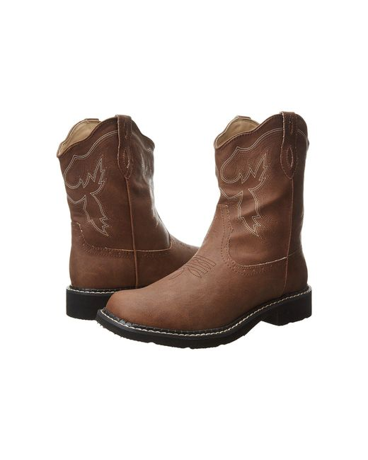 Roper - 8 Chunk Boot (brown) Cowboy Boots - Lyst