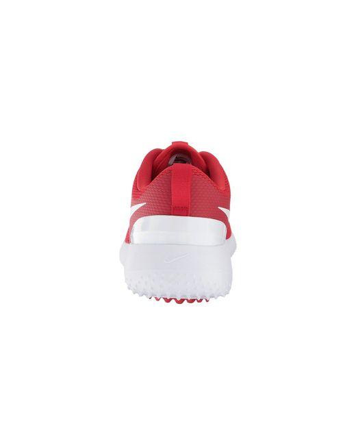 2a97467dc7b3f Lyst - Nike Roshe G (black white) Men s Golf Shoes in Red for Men