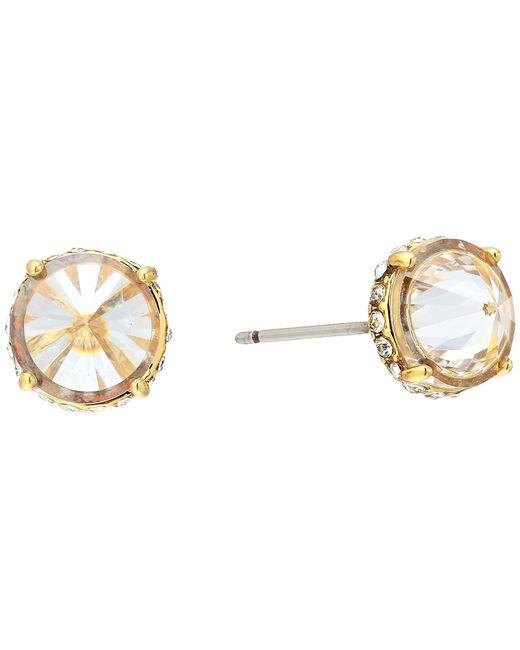Vince Camuto - Metallic Cubic Zirconia Rivoli Stud Earrings (silver) Earring - Lyst