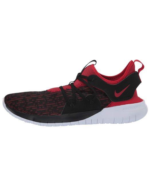 77234db307e0 ... Nike - Multicolor Flex Contact 3 (black university Red white) Men s  Running ...