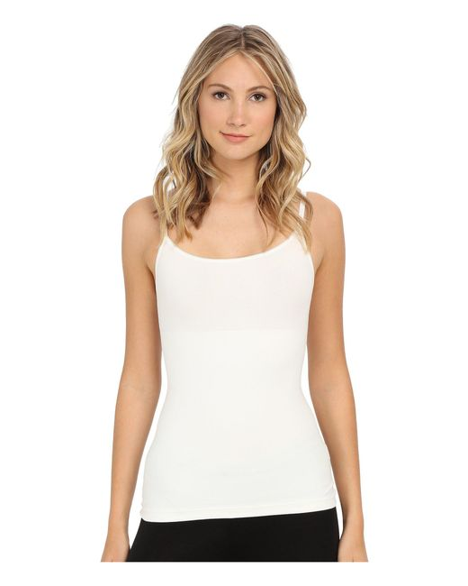 Spanx - White In And Out Camisole (very Black) Women's Underwear - Lyst
