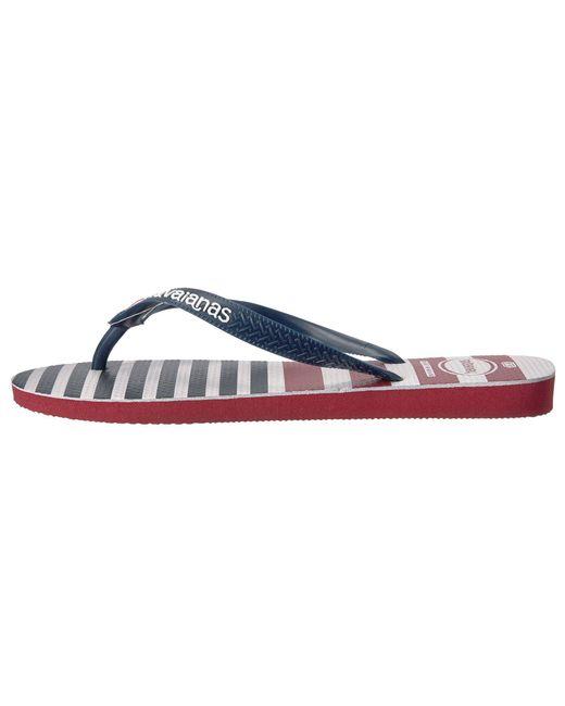 HavaianasUSA Stripe Logo Flip-Flops TQeGD8H8hL