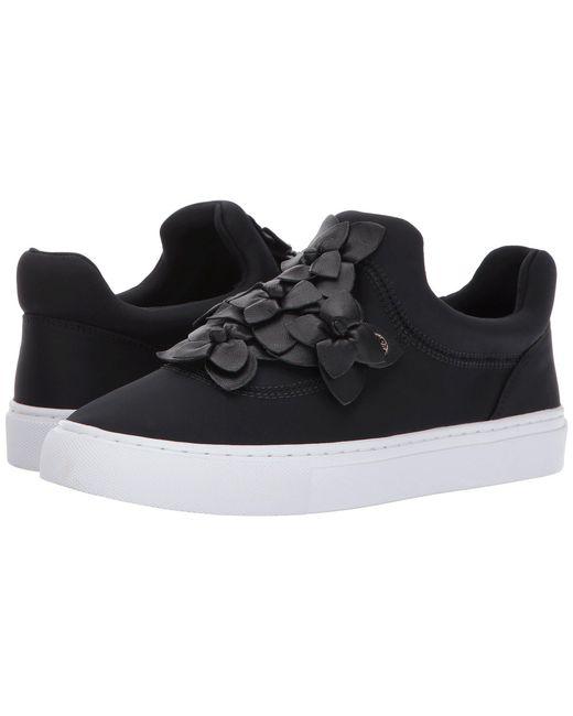 Tory Burch | Black Blossom Sneaker | Lyst