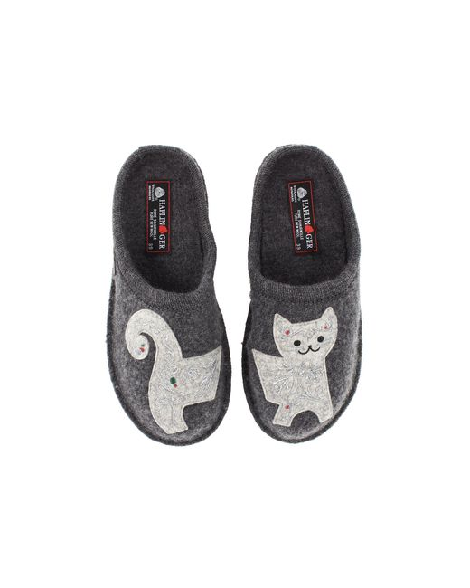 Haflinger - Gray Lizzy (grey) Women's Slippers - Lyst
