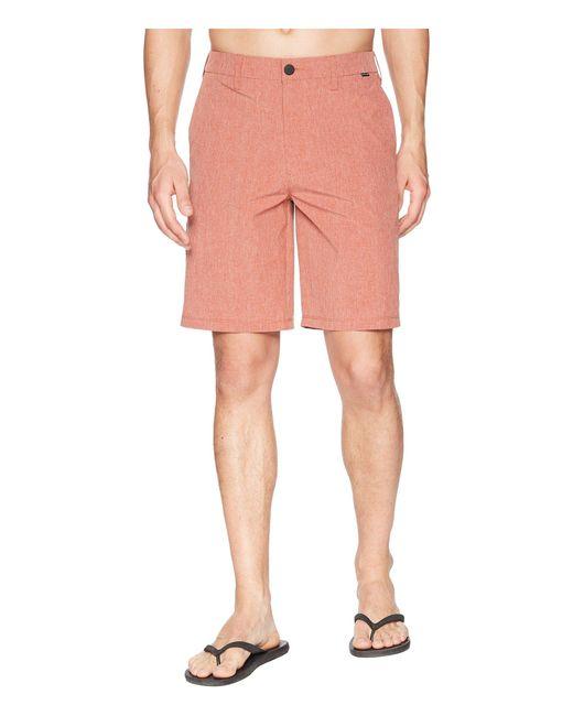 Hurley - Pink Phantom Hybrid Walkshorts for Men - Lyst