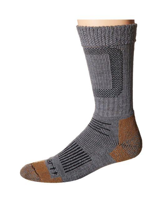 Carhartt | Gray Merino Wool Comfort Stretch Steel Toe Socks 1-pair Pack for Men | Lyst