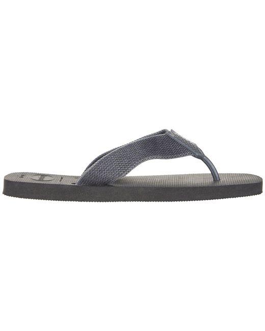 ebb872e3c30f ... Havaianas - Gray Urban Basic Flip Flops (black grey) Men s Sandals for  Men ...