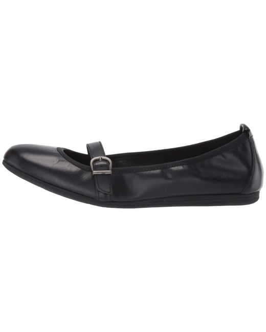 0b41a2c6a27e Lyst - Born Curlew (black Full Grain Leather) Women s Flat Shoes in ...