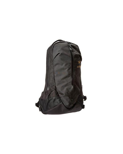 Arc'teryx - Black Arro 22 Backpack (nocturne) Backpack Bags - Lyst