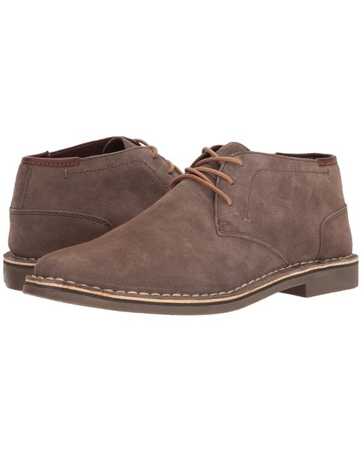 Kenneth Cole Reaction - Brown Desert Sun (rust) Men's Lace-up Boots for Men - Lyst