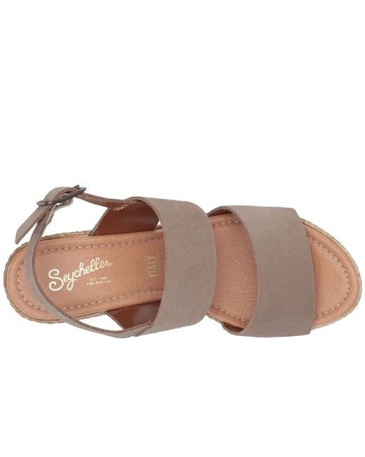 a2782ace301 ... Seychelles - Brown Downtime (bronze Metallic) Women s Wedge Shoes ...