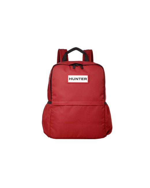 Hunter Red Original Nylon Backpack