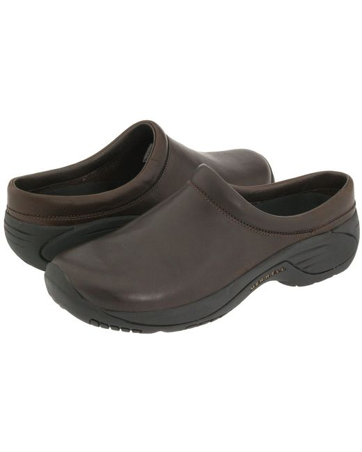 Merrell - Encore Gust (smooth Bug Brown Leather) Men's Slip On Shoes for Men - Lyst