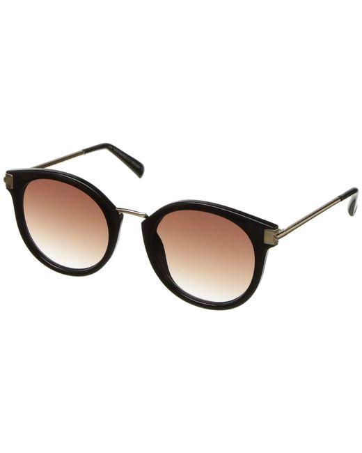 Le Specs - Black Last Dance (coal Tortoise) Fashion Sunglasses - Lyst
